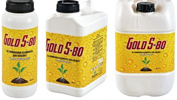 Gold S 80-New Generation Liquid Sulfur